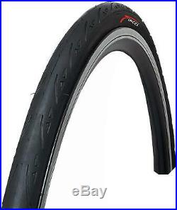 Fincci Pair 700 x 25c Tyres Antipuncture 60TPI for Race Road Racing Bicycle Bike