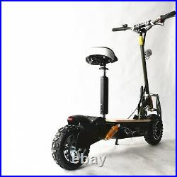 Gauss Electric Scooter Powerboard E Scooter 1600W 48v Black Off-road 12 Tyres