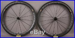 Mavic Cosmic Pro Carbon UST Tubeless Road Bike Wheelset and Tires MSRP $1699
