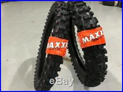 Maxxis 140/80-18 70R + 90 90 21 54R New Enduro tyres FIM Recommended Road Legal