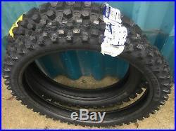 Metzeler Mid Hard Road Legal Enduro Tyres Pair 21 Front 19 (110) Rear 250 450F