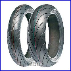 Michelin Pair Of Pilot Road 2 120 70 17 & 180 55 17 Motorbike / MC Tyres
