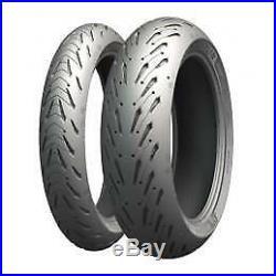 Michelin Road 5 Motorcycle Tyre Pair 120/70 ZR17 (58W) & 190/55 ZR17 (75W)