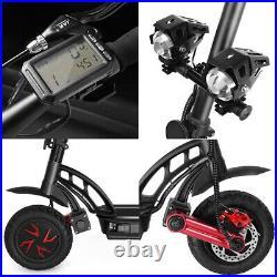 Pit Bike Electric Scooter 1600W 48V 10 Inch Big Tyres Light Off Road Y12 Pro UK