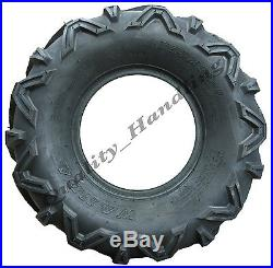 Quad tyres 22x10-9 & 22x7-11'E' Marked road legal ATV tires front rear Set of 4