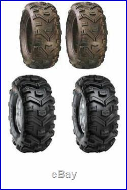 Set Of 4 Duro Buffalo Quad Tyres 25x8x12 25x10x12 E Marked Road Legal