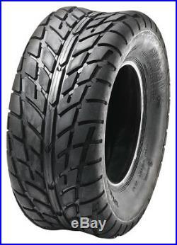 Set of 4 SUN-F ATV/UTV On Road Pattern Tires (2) 25X8-12 & (2) 25X10x12 6PR/021