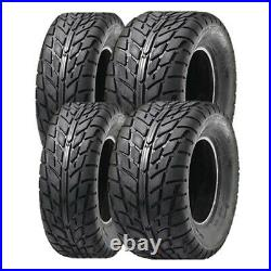 SunF 25x8-12 25x10-12 On Road Tyre A-021 Set of 4