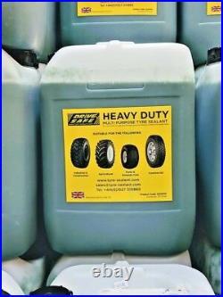 Tyre sealant multi purpose off-road 20-litre drum and installation pump