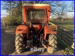 Universal 445dt 4wd Tractor Duncan cab road regd new front tyres very tidy