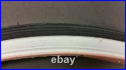 White Wall Bicycle Tires 27 X 1 1/4 For Road Bike Schwinn Continental Others