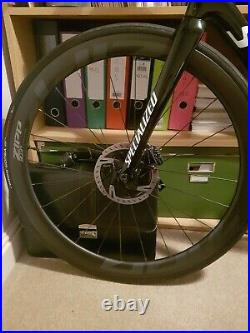 Zipp 303 S Carbon Disc Brake Road Bike Wheelset 700C Vittoria TLR Corsa Tyres